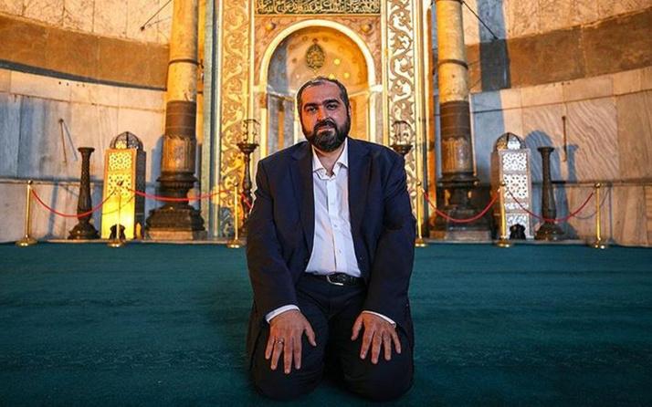 Ayasofya Camii İmamı Mehmet Boynukalın: Herkes işini yapsın