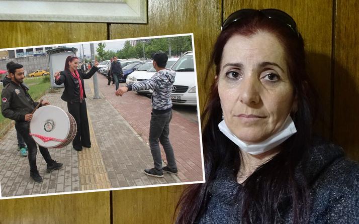 Boşanınca adliye önünde davul zurna çaldıran kadın öldürülmekten korkuyor