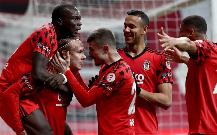 Beşiktaş Başakşehir Türkiye Kupası yarı final maçı golleri ve geniş özeti