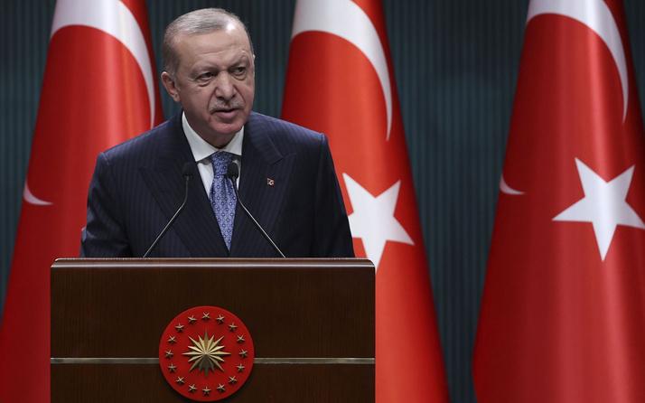 Başkan Erdoğan, İtalya Başbakanı Mario Draghi ve Merkel'le görüştü