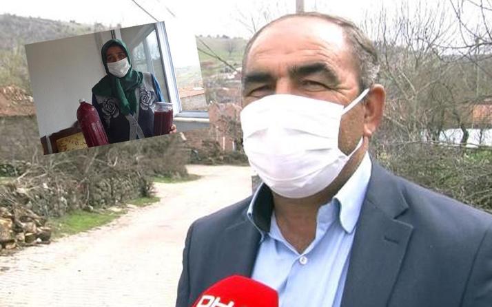 Balıkesir'de 1 yıldır tek vaka görülmeyen mahalle 'kızılcık hoşafı' sırrını gizlemiyor