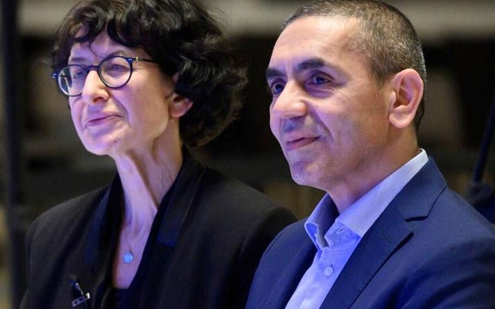 Türk mucitler Uğur Şahin ve Özlem Türeci'ye ödül: Yardım etmek Allah'ın bir lütfu