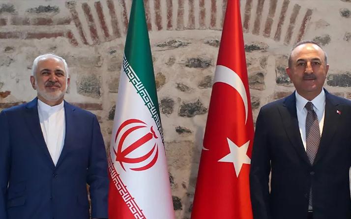 Mevlüt Çavuşoğlu İranlı mevkidaşı CevadZarif ile görüştü