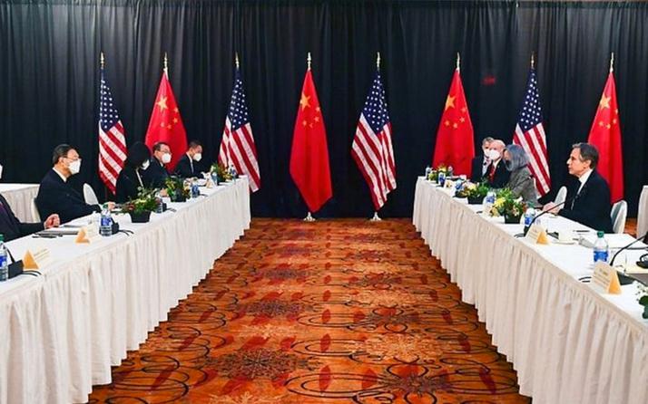 Çin ve ABD heyetlerini Alaska'daki kapışması 1 saat sürdü taraflar sözlerini sakınmadı