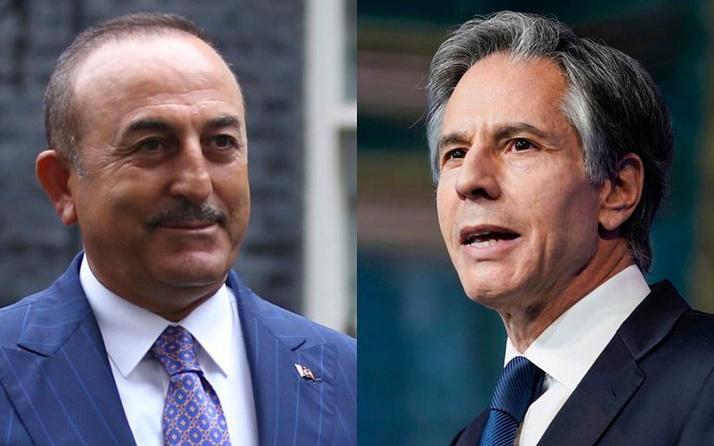 Dışişleri Bakanı Çavuşoğlu ve ABD'li mevkidaşı Blinken ile ilk kez yüz yüze görüştü