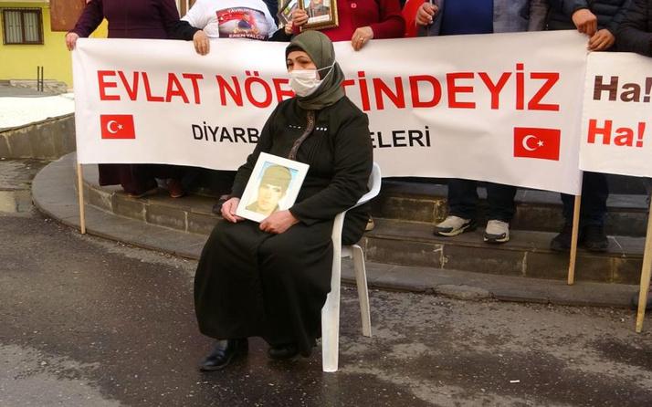 Diyarbakır'da evlat nöbetine bir aile daha katıldı yeter artık dayanamıyorum