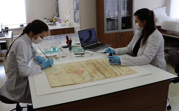 Gaziantep'te tesadüfen padişah fermanı bulundu! Mikroskopla incelendi