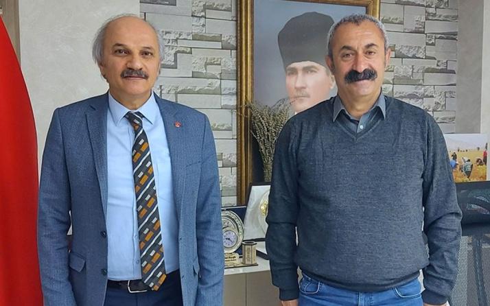 Saadet Partisi heyetinden Tunceli Belediye Başkanı Fatih Mehmet Maçoğlu'na ziyaret