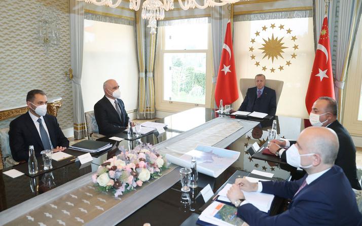 Cumhurbaşkanı Erdoğan Azerbaycan Başbakan Yardımcısı'nı kabul etti