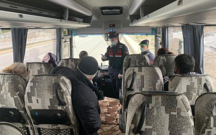 En çok vakanın görüldü ilde bir yanlış daha karantinayı ihlal etti yolcu otobüsünde yakalandı