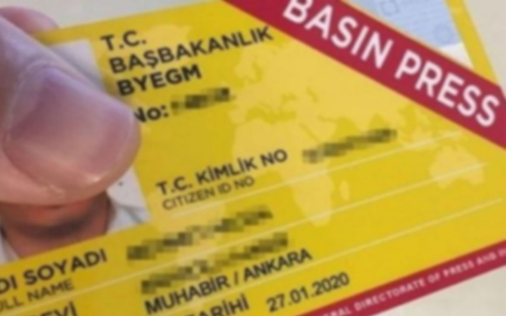 Terör yandaşlarına basın kartı mı verilecek?