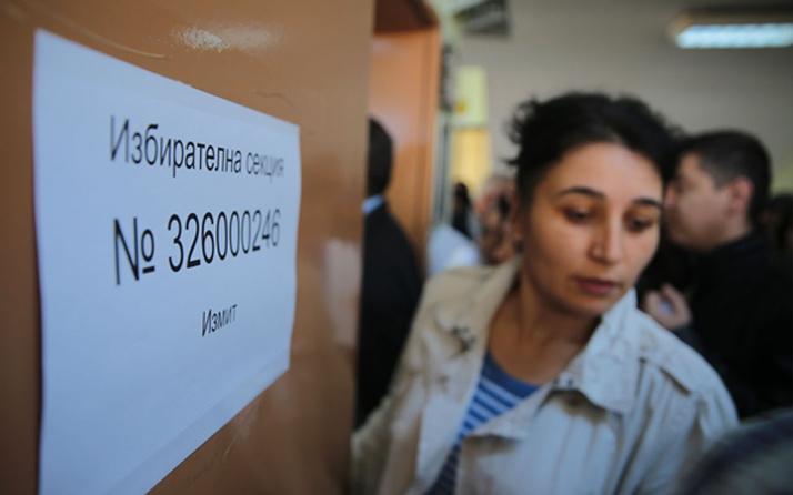 Bulgaristan milletvekili seçimleri için sandık başında