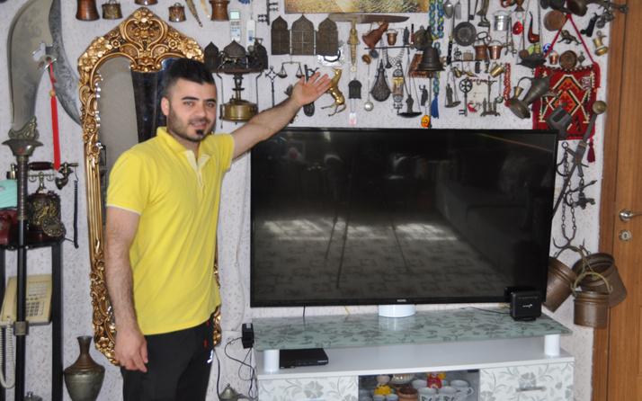 Mardin'den çöplerden topladı 45 bin TL kazandı! Evini gören şaştı kaldı