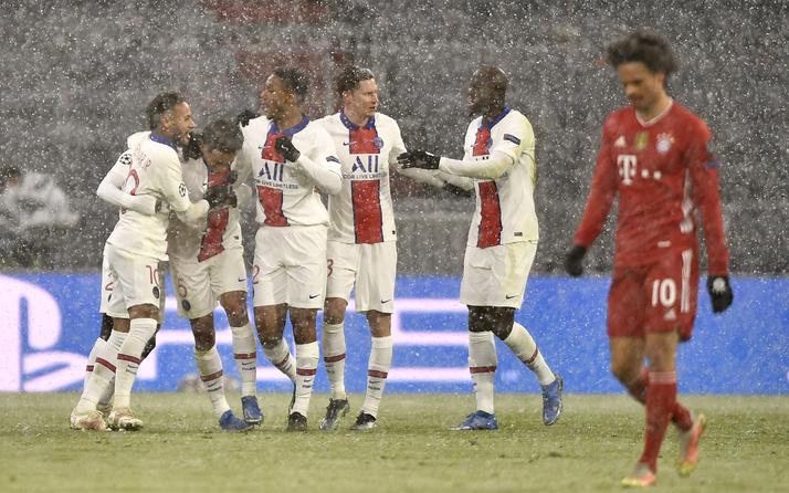 PSG-Bayern Münih kapışmasında 5 gol birden