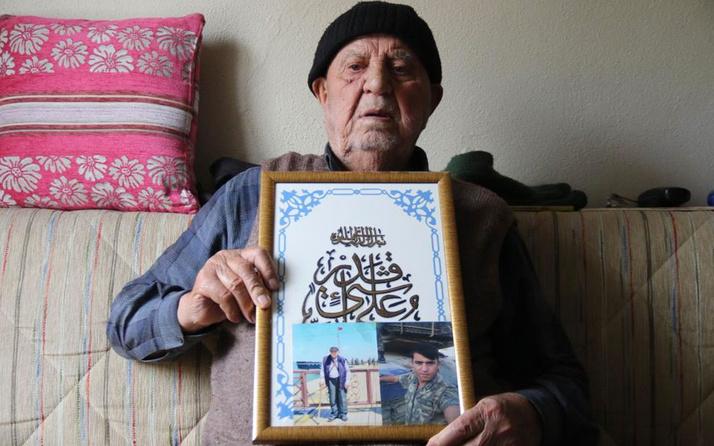 Eskişenir'de yaşayan şehit dedesi: Haberi alınca içim rahatladı