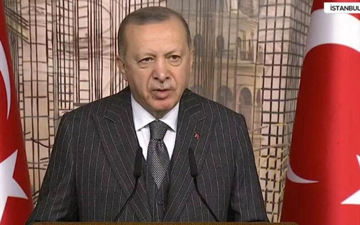 Erdoğan'dan CHP'ye sert sözler: Gavurun kılıcını sallayarak üzerimize gelenleri...