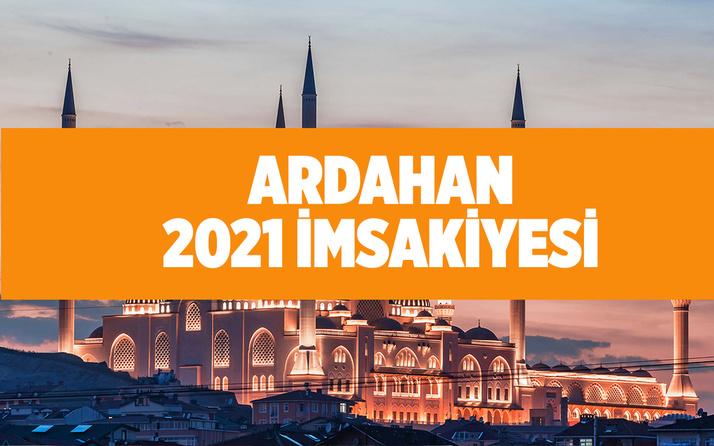Ardahan iftar ve sahur saati 2021 imsakiye takvimi