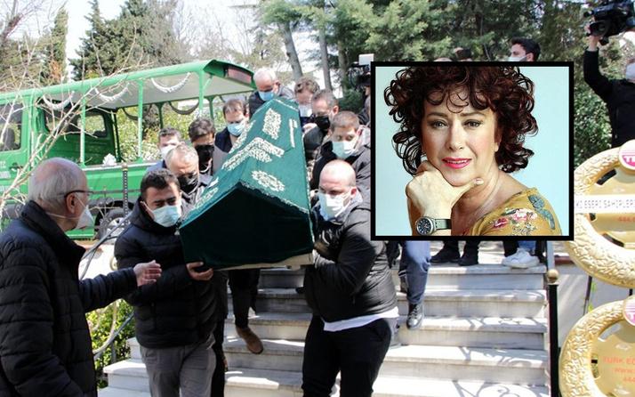 Mehtap Ar Zincirlikuyu Mezarlığı'nda son yolculuğuna uğurlandı