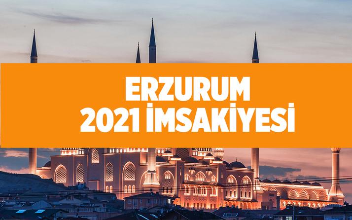 Erzurum iftar ve sahur vakitleri 2021 Ramazan ayı iftar saatleri