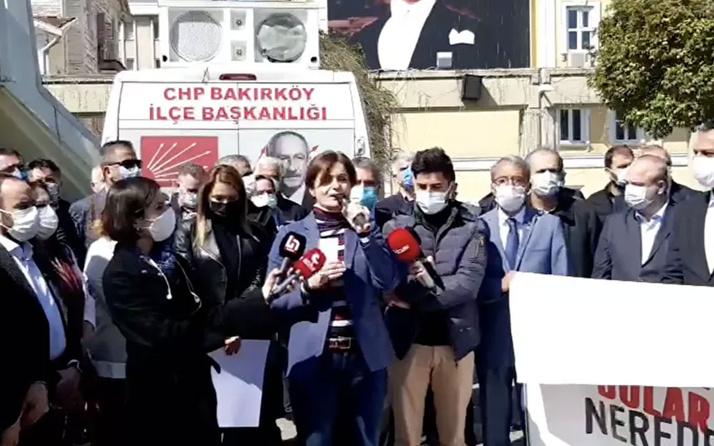 CHP İstanbul İl Başkanı Canan Kaftancıoğlu: 128 milyar dolar nerede?