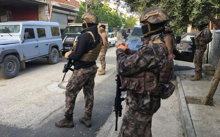 Adana'da 10 terör şüphelisi, operasyonla yakalandı