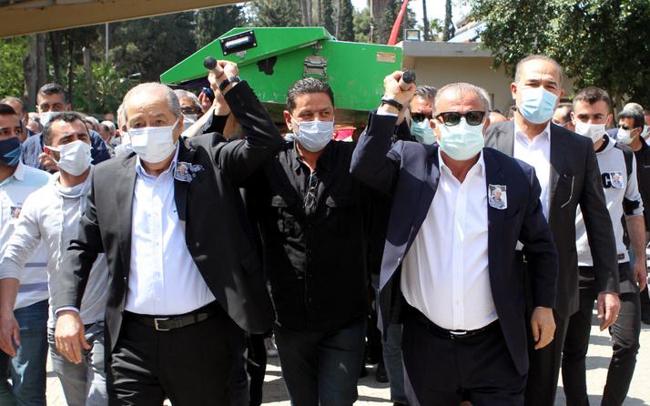 Fatih Terim, Adana Demirspor'un efsane isminin tabutunu omuzladı