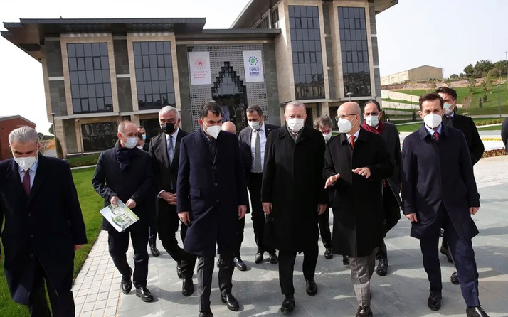 Erdoğan, Marmara Üniversitesi Recep Tayyip Erdoğan Külliyesi'ni inceledi