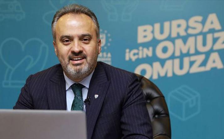 Bursa Büyükşehir Belediye Başkanı Alinur Aktaş'ın Kovid-19 testi pozitif çıktı
