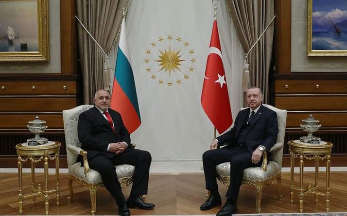 Cumhurbaşkanı Erdoğan, Bulgaristan Başbakanı Boyko Borisov ile görüştü