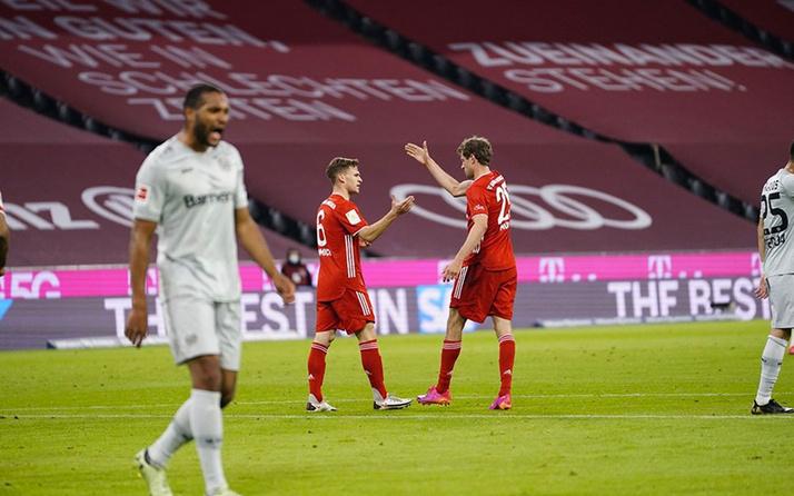 Bayern Münih, Leipzig ile puan farkını 10'a çıkardı