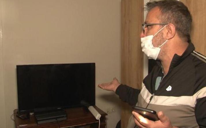 Arnavutköy'de elektrik voltajı yüksek gelince 5 apartmandaki tüm elektronik cihazlar bozuldu