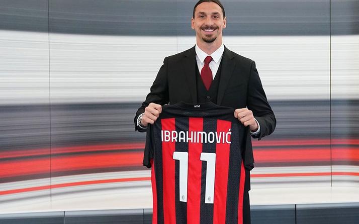 39'luk Zlatan İbrahimovic 1 yıllık imza attı: Burası benim evim