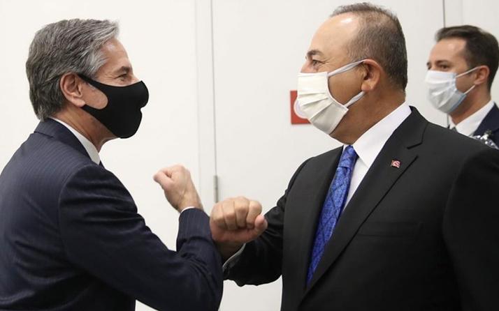 Dışişleri Bakanı Mevlüt Çavuşoğlu, ABD'li mevkidaşı Antony Blinken ile görüştü