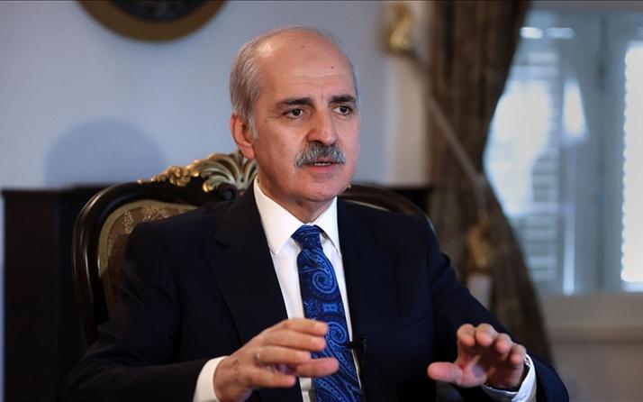 Numan Kurtulmuş'tan HDP'ye tepki PKK'nın kanlı yüzünü gizleme çabanız boşunadır