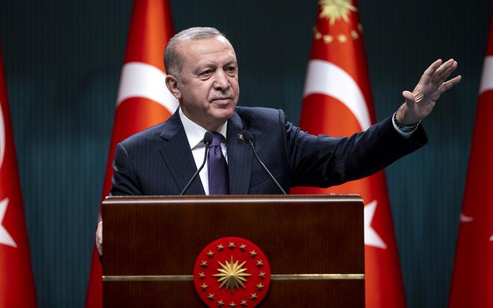 Cumhurbaşkanı Erdoğan'dan İsrail saldırılarına karşı Filistin'e destek
