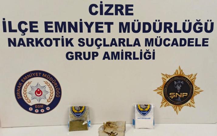 Şırnak'ta uyuşturucu ve kaçakçılık operasyonu: 48 gözaltı