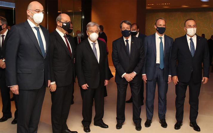 Cenevre'de kritik Kıbrıs zirvesi!