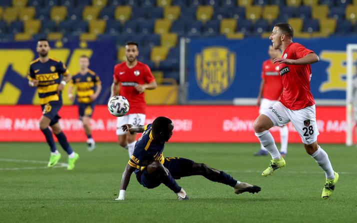 Gaziantep FK konuk olduğu Ankaragücü'nü tek golle yendi