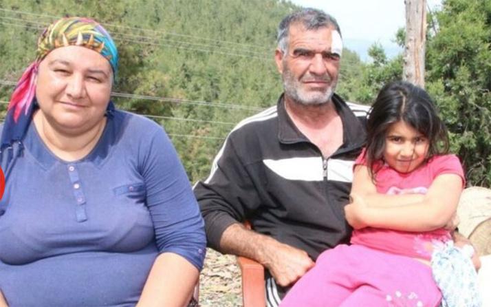Mersin'de maden çıkan bahçesini satmadı belediye çalışanları eşi ve çocuğunun önünde dövdü