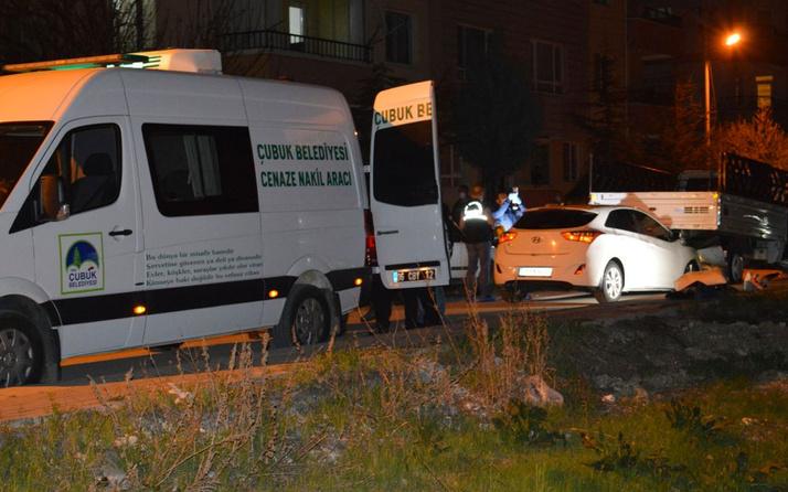 Ankara'da husumetlilerin tartışması kanlı bitti 1 ölü 2 yaralı