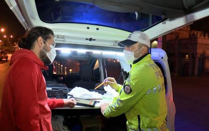 İstanbul'da 17 günlük tam kapanmanın ilk gecesi! Belgelerinde eksiklik olanlara ceza yağdı