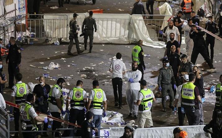 İsrail'de bayram kutlama alanında izdiham: 44 ölü, 103 yaralı