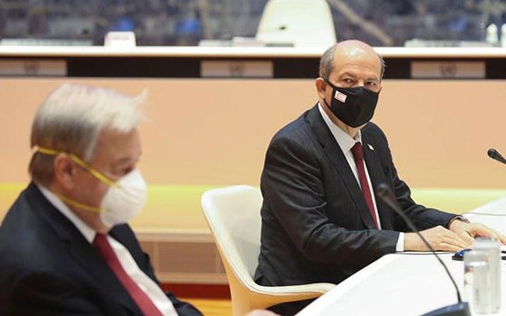 Ersin Tatar'dan Kıbrıs Zirvesi değerlendirmesi: Çıkışımız bir dönüm noktasıdır