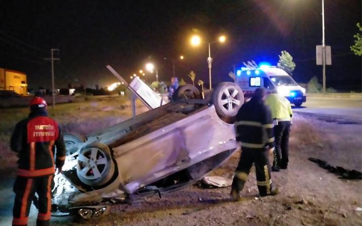 Mardin'de feci kaza! Direksiyon hakimiyetini kaybedip takla attı: Yaralılar var
