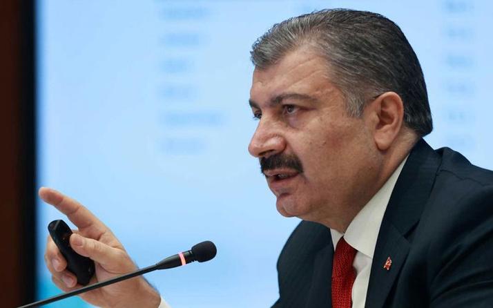 Sağlık Bakanı Fahrettin Koca açıkladı! İşte vaka sayıları en çok azalan iller