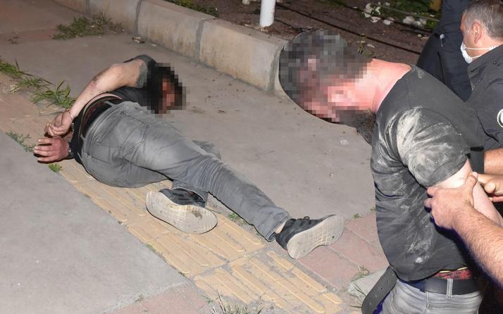 İzmir'de gece boyu yapmadığı kalmadı! Ortalığı birbirine kattı: 50 cm kala...