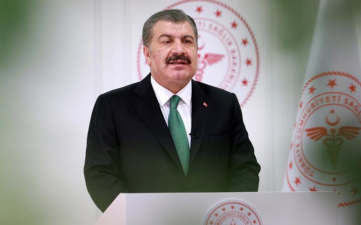 Sağlık Bakanı Koca'dan futbol kulüplerine teşekkür mesajı
