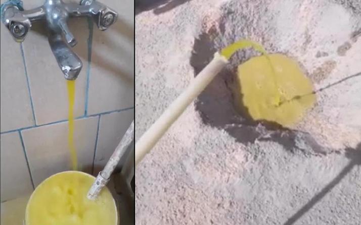 Eskişehir'de çeşmeler sarı aktı! İçme suyu şebekesine zirai ilaç karışınca 2 kişi zehirlendi