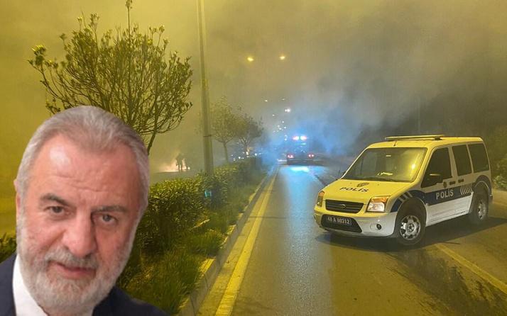 Bodrum'da eski milletvekilinin cipinde yangın çıktı