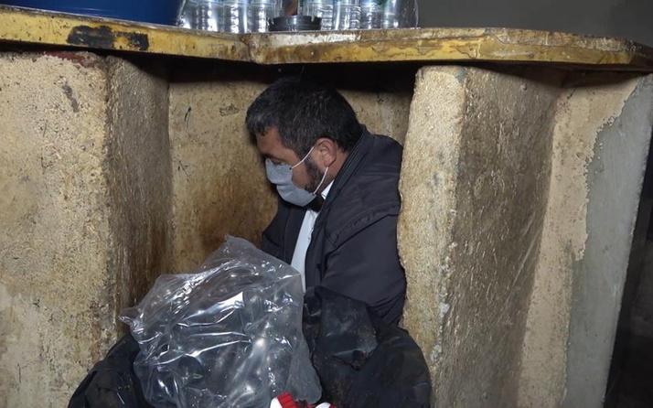 Kırıkkale'de tuvalete ve tezgaha saklanmaları fayda etmedi! Yakayı ele verdiler